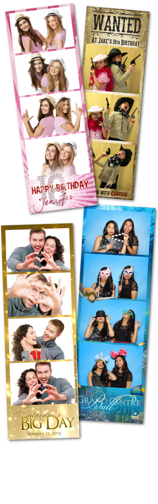 Photobooth rentals in Vancouver, BC for weddings, events, and parties.