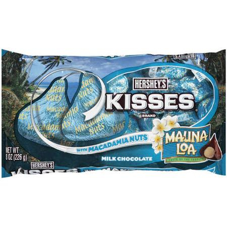 Hershey's Kisses with macadamia nuts - a fantastic Hawaiian Luau party idea