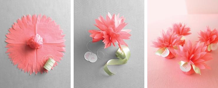 How to make a paper dahlia