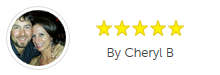 Client review from the YellowPages by Cheryl B.
