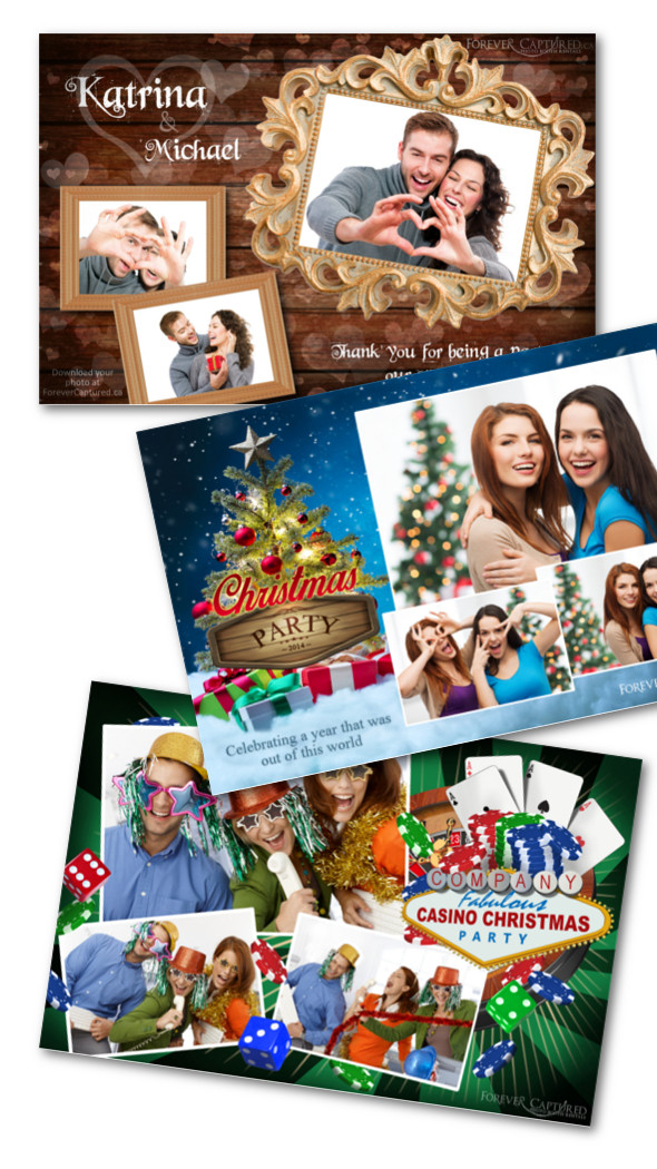 Hire a photo booth for your event, party, or wedding.