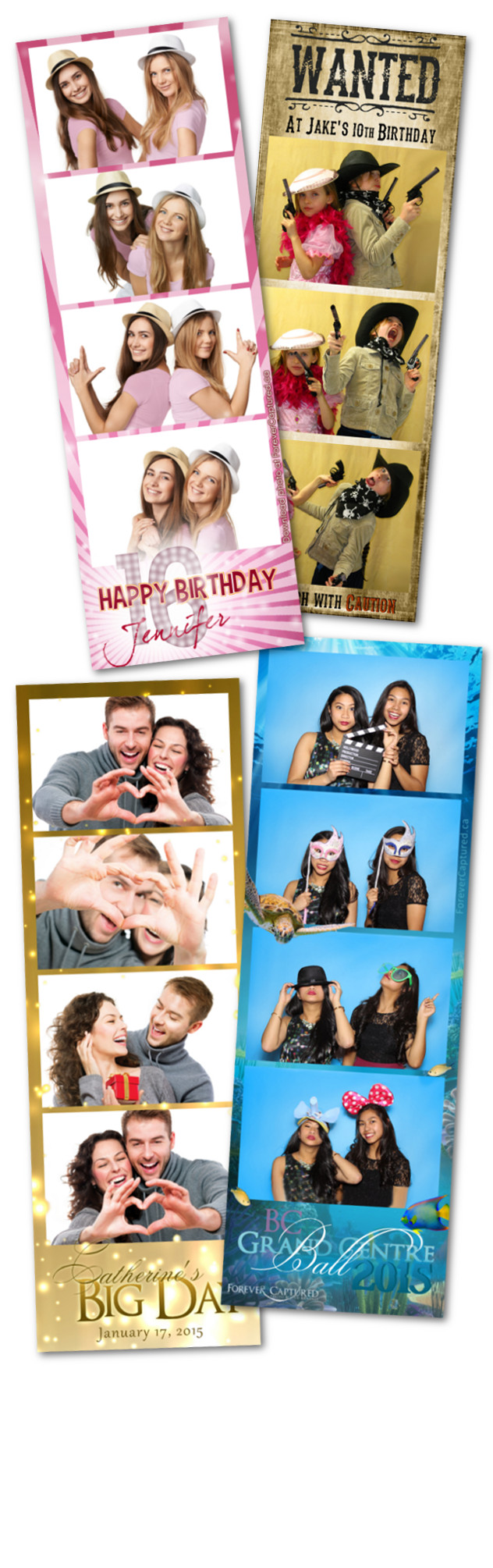 Photobooth rentals in Coquitlam, BC for weddings, events, and parties.