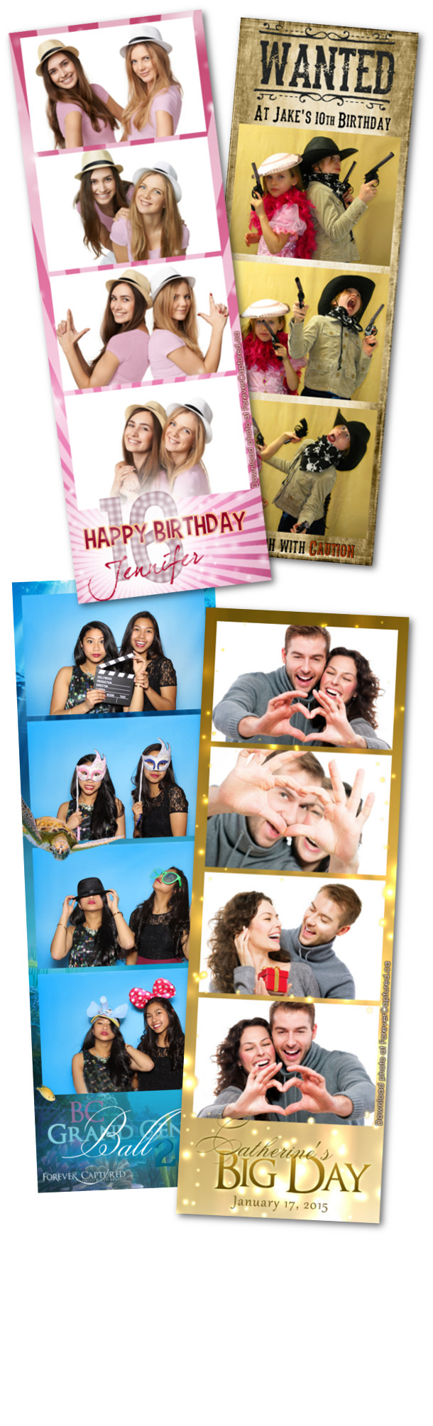 Photobooth rentals in Surrey, BC for weddings, events, and parties.