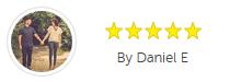 Customer review by Daniel E.