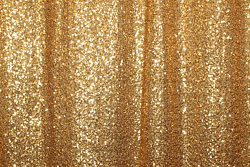 Sample gold sequin photo booth backdrop curtain.
